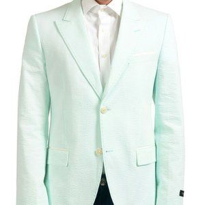 Marc Jacobs Green Two Button Blazer Sport Coat